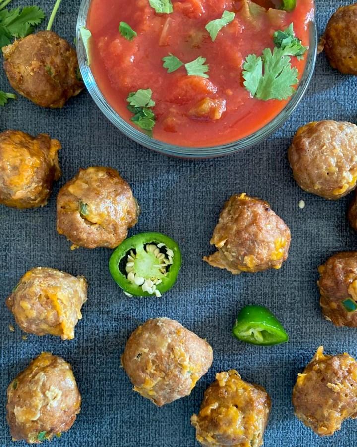 Mexican Meatballs