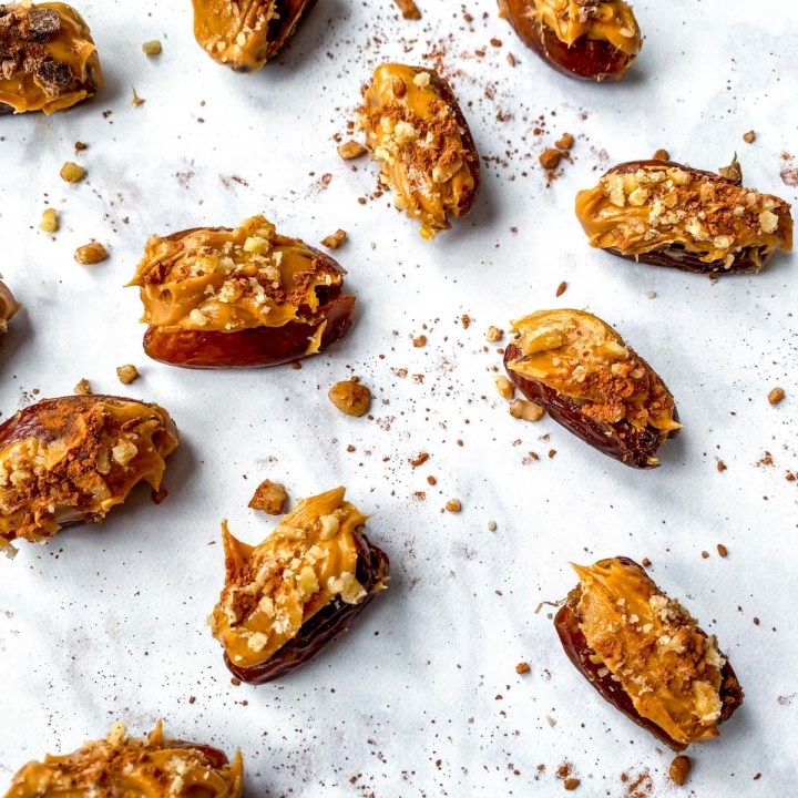 peanut butter stuffed dates