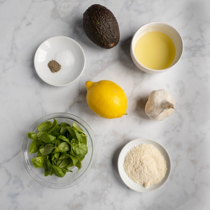 Ingredients in Avocado Pesto