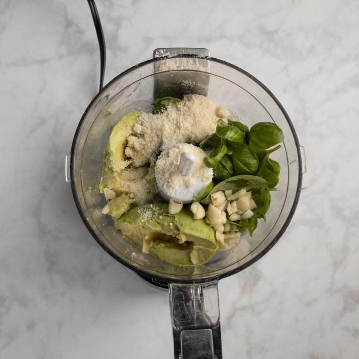 how to make Avocado Pesto