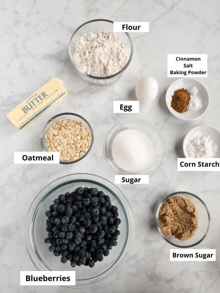 Gluten-Free-Blueberry-Crumble-Ingredients