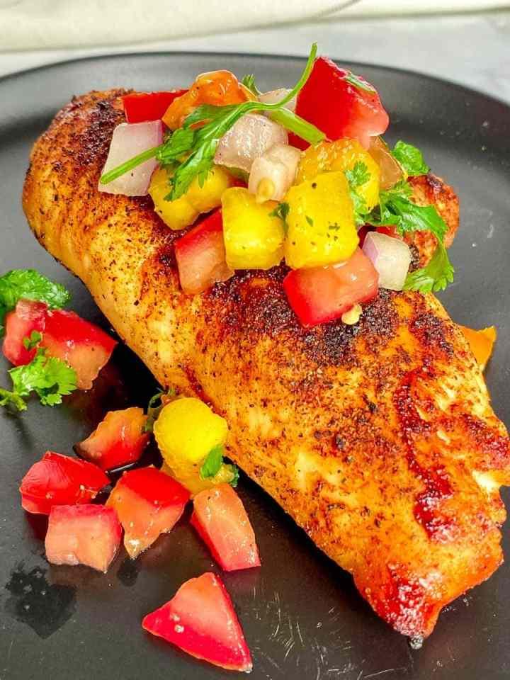 Salmon-and-peach-habanero-salsa