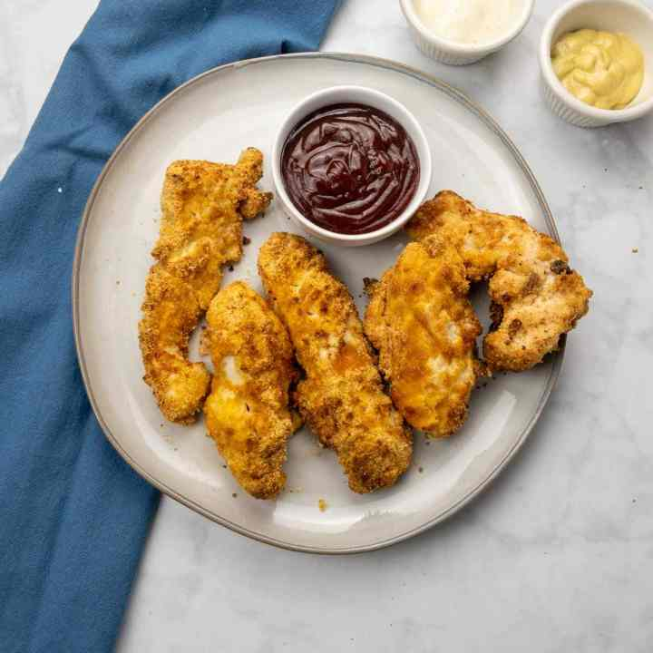 Almond Flour Chicken Tenders in the Air Fryer