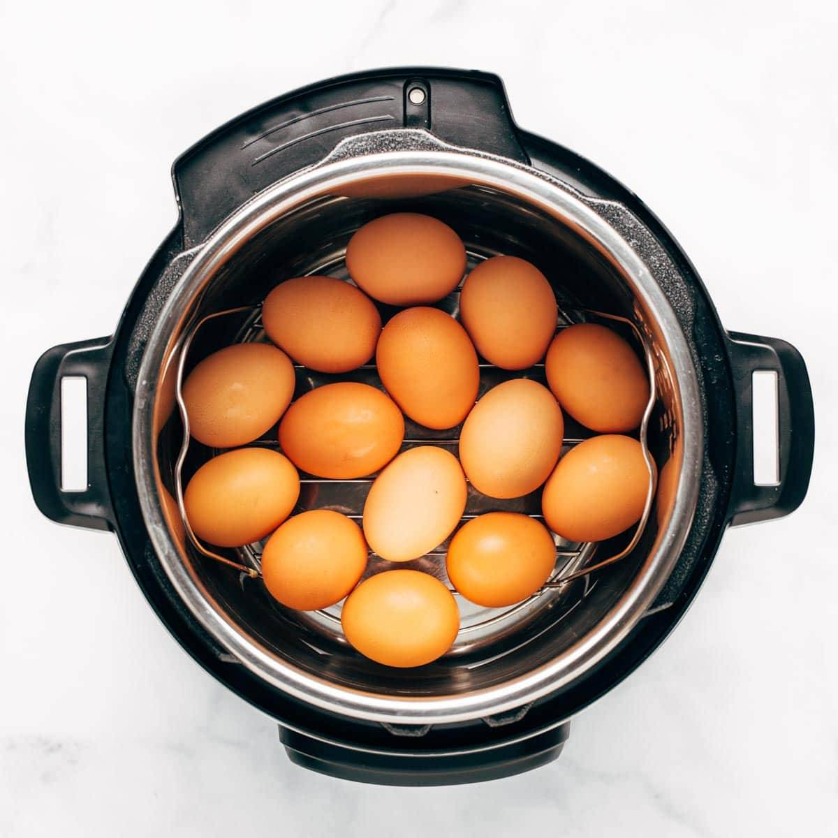 Eggs in the Instant Pot.