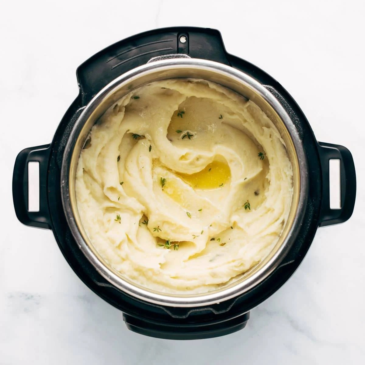 Mashed potatoes in the Instant Pot.