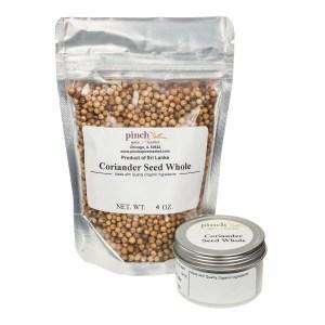 bag of coriander seed from Sri Lanka