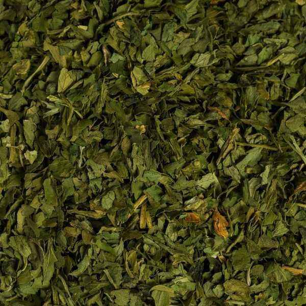 fresh dried parsley close up