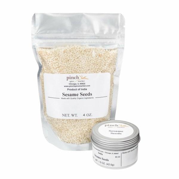 buy organic sesame seeds bag tin