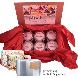 spices for fall and winter gift box
