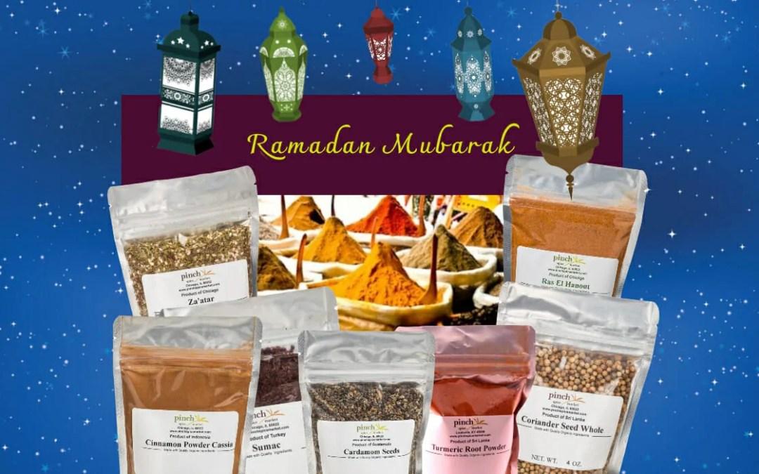 Ramadan Mubarak! Here's 10% Off Spices…