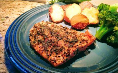 Amazing Grilled Salmon with Marsh's Sitka Salmon Rub
