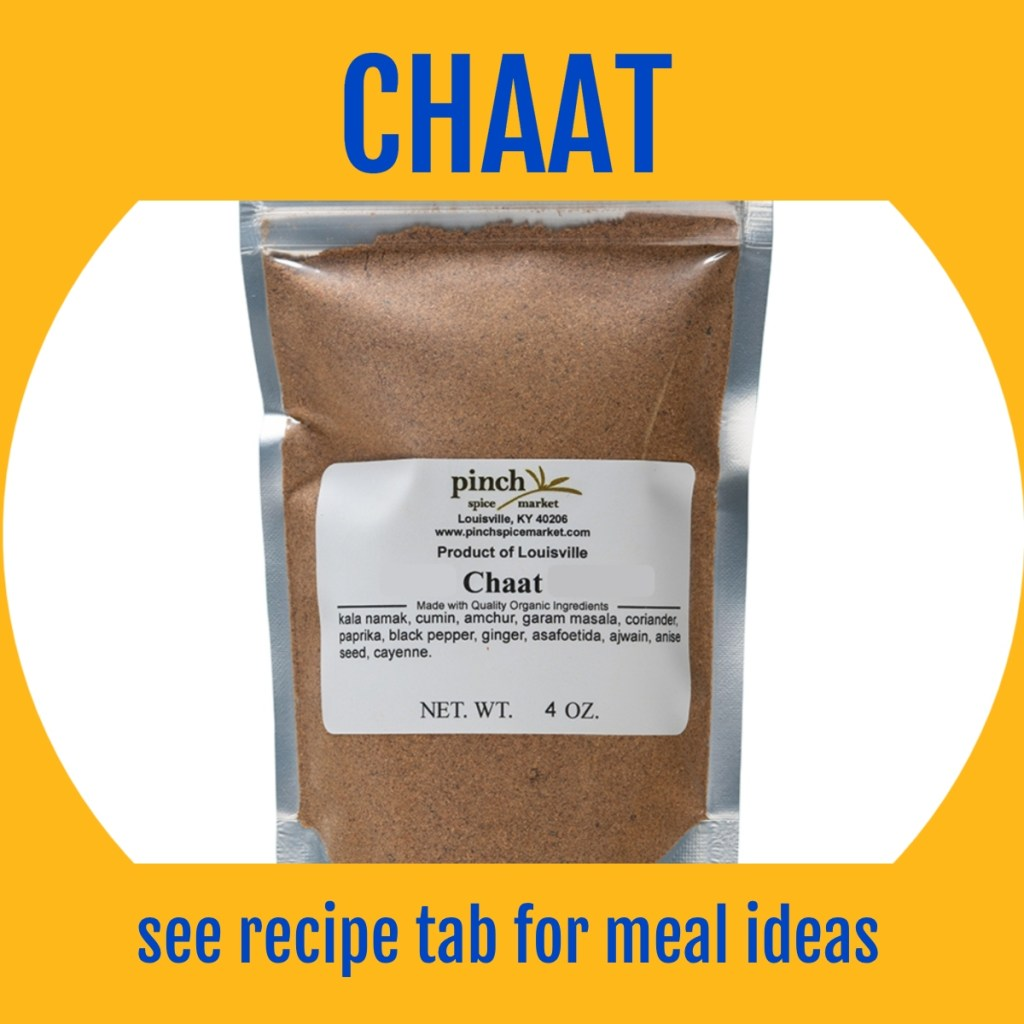 make chaat masala Indian food at home