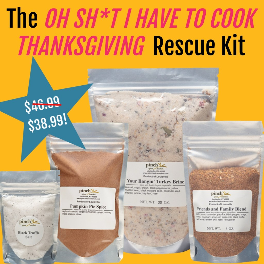 sale on organic thanksgiving spice kit