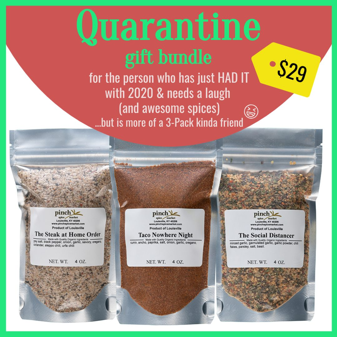 3 pack natural seasoning blends for covid cooking at home