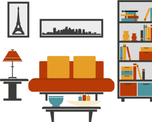living vector furniture table couch clipart transparent pinclipart
