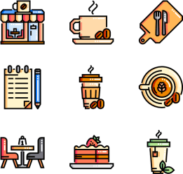 Cafe Restaurant Menu Icon Vector Clipart Full Size Clipart #1403195 PinClipart