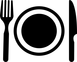 meal icon dinner clipart restaurant transparent kitchen clam svg dirt solutions worm pinclipart plate webstockreview clipground cocktails optional database