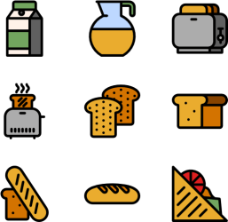 clipart breakfast icon furniture pinclipart transparent