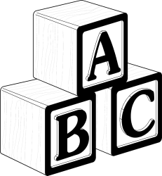 Blocks Clipart Black And White Clip Art Png Download Full Size Clipart #22572 PinClipart