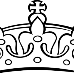 Crown Clipart Princess Crown Clipart Black And White