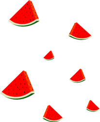 clipart watermelon ftestickers sweet pinclipart transparent
