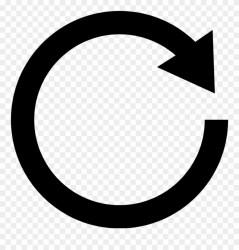 Quarter Arrow Black Clipart Circle Black And White Png Transparent Png #16354 PinClipart