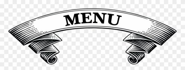 Gardners Inn Blue Mountains Restaurant Menu Header Restaurant Menu Logo Png Clipart #101429 PinClipart