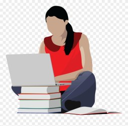 Studying Girl Clip Art College Student Clipart Png Download #116423 PinClipart