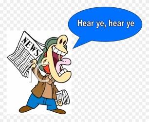 Escondido Town Hall Meeting Hear Ye Hear Ye Clipart Png Download #1111628 PinClipart