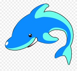 Cartoon Blue Whale Transprent Png Free Download Dolphin Clipart #1186734 PinClipart