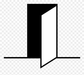 Open Open Door Icon Vector Png Clipart #1193019 PinClipart