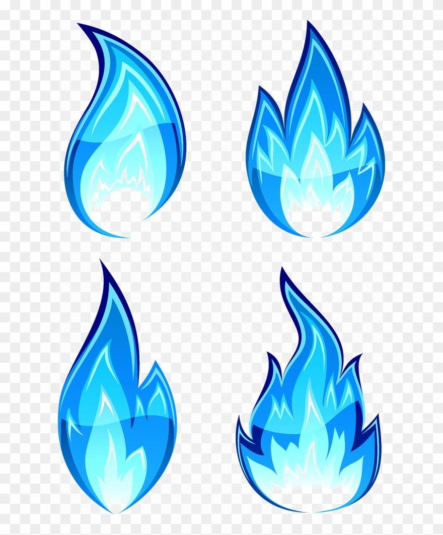 Blue Flames PNG, Blue Flames Transparent Background