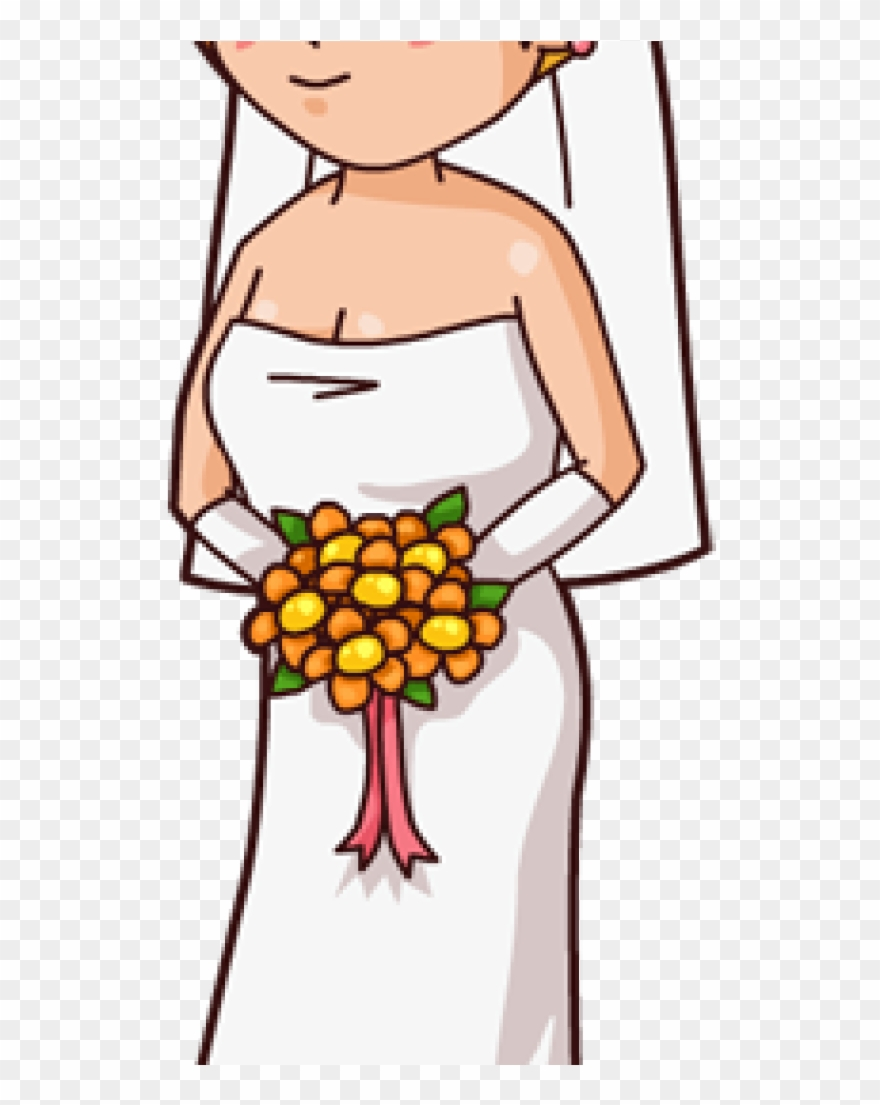 Bride Clipart : bride, clipart, Bride, Clipart, Cartoon, Students, Download, (#1232622), PinClipart