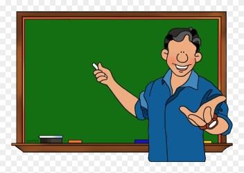 School Clipart Teacher School Clip Art Cartoon Png Download #1252811 PinClipart