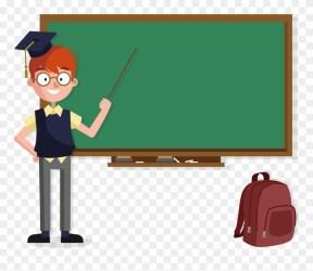 Transparent Teacher Blackboard School Teacher Image Cartoon Clipart #1256913 PinClipart