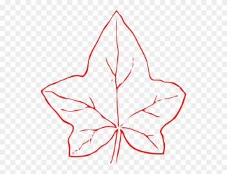 clip leaf outline pumpkin pinclipart clker leaves clipart middle