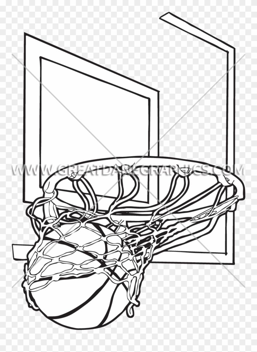 Basketball Hoop Drawing : basketball, drawing, Basketball, Drawing, Getdrawings, Clipart, (#152257), PinClipart