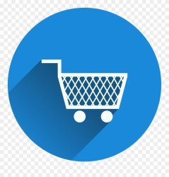 Shopping Cart Shopping Icon Png Image Shopping Cart Icon Blue Clipart #1764510 PinClipart