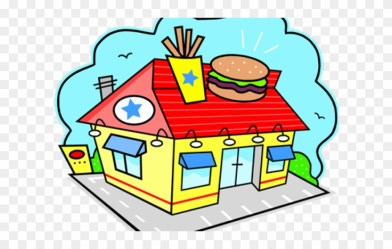 Place Clipart Restaurant Fast Food Restaurants Png Download #1771966 PinClipart