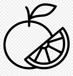 orange clipart svg library citrus lime icon pinclipart