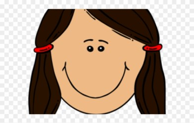 Girl Clipart Brown Hair Boys And Girls Face Png Download #1959968 PinClipart