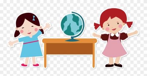 Teacher Clip Early Childhood Teacher And Student Cartoon Png Transparent Png #209601 PinClipart