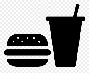 Yükle Burger And Soda Svg Png Icon Free Download Transparent Background Food Icon Png Clipart #2205943 PinClipart