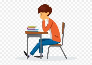 How To Help Your Students Find And Maintain Enthusiasm Cartoon Students Sitting At Desk Clipart Full Size Clipart #2216587 PinClipart
