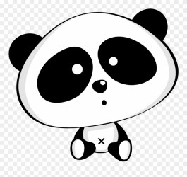 Large Size Of How To Draw A Baby Panda Easy Make Rubber Clipart #2276419 PinClipart