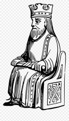 King Clipart Outline King Black And White Png Transparent Png #285247 PinClipart