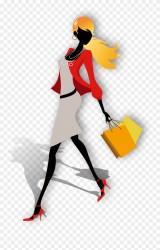London Week Blog Clothing Shopping Woman Clipart #2850558 PinClipart