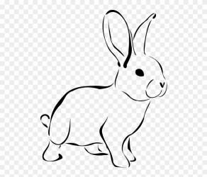 rabbit clip clipart pinclipart