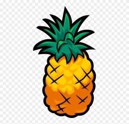 Pineapple Cartoon Pineapple Transparent Background Clipart #328050 PinClipart