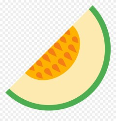 This Is A Slice Of A Melon Fruit Melon Icon Clipart #3597513 PinClipart